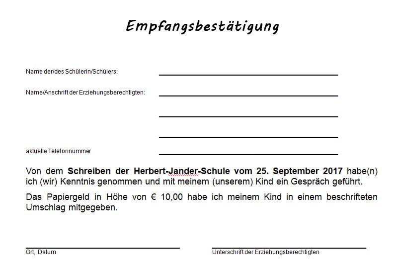 2017-25.09. Elternbrief / Empfangsbestätigung - www ...